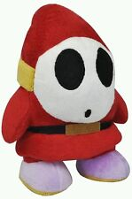 SUPER MARIO BROS. TIPO TIMIDO PELUCHE - 16Cm. - Plush Shy Guy Plusch Felpa Toy