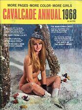 Vintage Cavalcade Annual 1968 Magazine Pin Up Girls