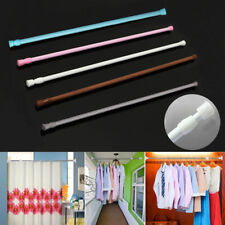 FT- Extendable Telescopic Spring Tension Curtain Voile Net Shower Rod Pole Delux