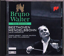 Bruno WALTER BEETHOVEN MENDELSSOHN Joseph SZIGETI Nathan MILSTEIN Violin Con CD