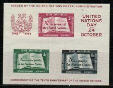 United Nations #38 1955 MNH