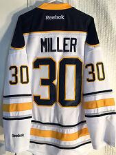Reebok Premier NHL Jersey Buffalo Sabres Ryan Miller White sz M
