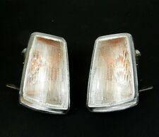 PEUGEOT 205 1983-1998 FRONT INDICATORS REPEATERS SET LIGHT LAMP PAIR CLEAR LH+RH