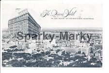 The Queens Hotel in the heart of downtown Montreal Vintage Postcard A01