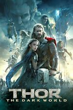 Thor The Dark World 1- Poster (A0-A4) Film Movie Picture Art Wall Decor Actor