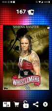 Topps WWE SLAM Digital 2020 WrestleMania 36 Gold Diamond Bundle Shayna Baszler