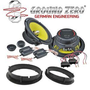 Ground Zero Titanium 165mm Komposystem für VW Passat Variant 3B 3BG Lautsprecher
