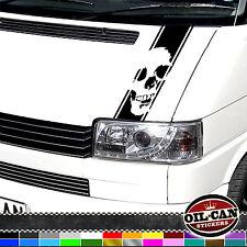 SKULL VW T4 TRANSPORTER BONNET STRIPE multivan caravelle camper