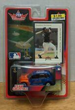 Edgardo Alfonzo Fleer New York Mets Diecast + Card 2001 MLB  092618DBT