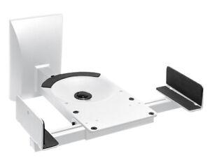Wandhalterung für Lautsprecher Belastung bis 25 kg 2 Stück Weiß