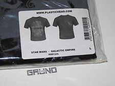T-Shirt: Star Wars-Galactic Empire, nero, taglia L, NUOVO (a6/4)