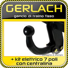 Alfa 147 3/5 porte 2000-2003 gancio di traino + kit elettrico 7 con centralina