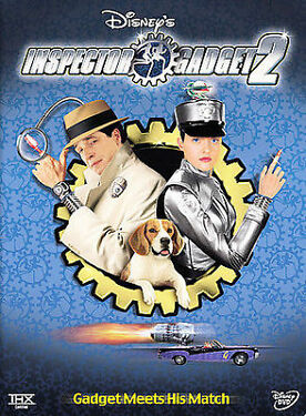Inspector Gadget 2 AMAZING DVD IN PERFECT CONDITIONDISC AND ORIGINAL CASE ALL
