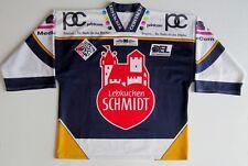 GENIAL: NÜRNBERG ICE TIGERS Play Off Trikot 1999! LIAM GARVEY #87! SIGNIERT!!!!