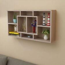 Modern Floating Wall Shelves Storage Unit Bookshelf Bookcase Display Home Decor