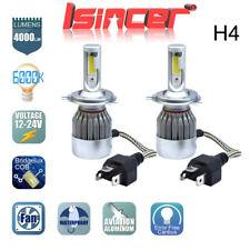 COB H4 HB2 9003 CREE LED Headlight Kit Hi/Lo Beam Power Bulbs 6000K White Pair