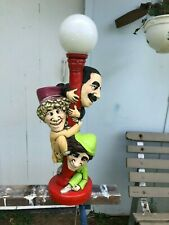 Scarce Marx Brothers Electric pedestal Lamp
