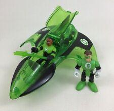 Imaginext Dc Super Friends Green Lantern Jet Sinestro Figure Fisher Price 2009