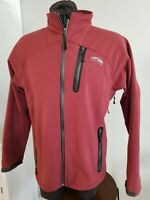 Men's GOLITE Wind/Water Resistant SOFTSHELL Jacket Pit Zips sz Medium