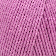 Robin Crepe lana media DK punto doble / Hilo 100g - 4025 Rosa