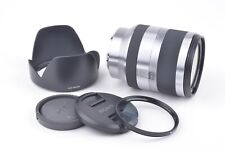 EXC+++ SONY 18-200mm f3.5-6.3 OSS LENS SEL18200 w/HOOD, CAPS, UV VERY NICE CLEAN