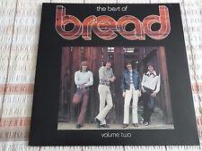 "BREAD - THE BEST OF BREAD VOL 2 12"" 33RPM VINYL LP ELEKTRA RECORDS K 42161 1973"