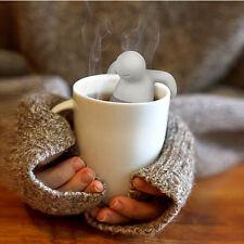 Mr.Tea Infuser Tea Strainer Silicone Herbal Spice Filter Diffuser Filter