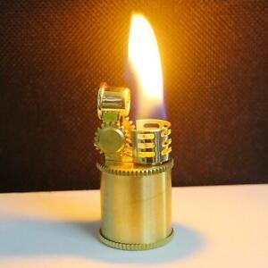 Solid brass Petrol Lighter camping survival EDC