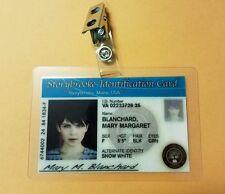 Storybrooke  ID Badge - Mary Margaret Blanchard  cosplay prop costume