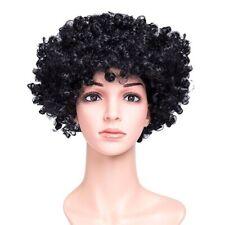 CURLY AFRO BLACK FANCY DRESS WIG MENS/LADIES COSTUME 70S HAIR