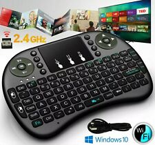 Mini Wireless Keyboard Mouse Touchpad for PC Android Smart TV rechargeable PS4