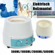 Max.450 °C Digital Heizmantel Heizhaube mit Magnetrührer 500ml, 1L, 2L oder 5L