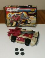 Cobra Rage 1990 Action Figure Vehicle Vintage GI Joe Hasbro with box ARAH
