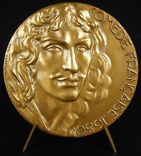 Médaille La Comédie française aux Etats-Unis Louis XIV USA Théatre 1955 Médai