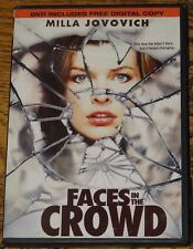 FACES IN THE CROWD 2011 MILLA JOVOVICH WITH SUBTITLES USA R1 DVD SENT FROM UK