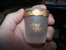 Ziegfried and Roy  shot glass