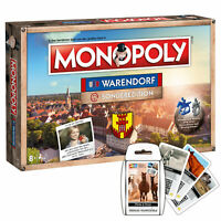 Monopoly Warendorf limitierte Sonderedition Brettspiel Gesellschaftsspiel