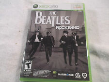 The Beatles X Box 360 Video Game W/ Insturctions  Use on Microsoft Players 1-6