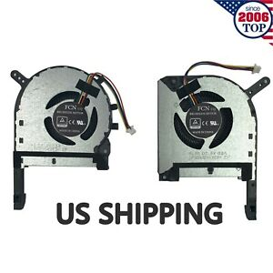 NEW For Asus TUF Gaming FX505 FX505GE FX505GM FX505DT FX705 CPU&GPU Cooling Fan