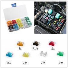 120Pcs Mix Assorted Car Mini Low Profile Fuse Box  For Japan/Korea Car Brands