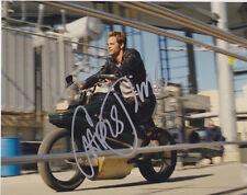 Chris Pine (Star Trek) signed authentic 8x10 photo COA (F)