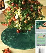 Weihnachtsbaum Decke 120 cm Grün Christbaum Unterlage Schmuck Tannenbaumdecke