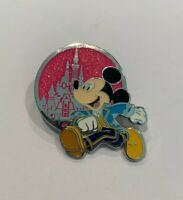 Disneyland Celebrate Mickey Mouse Party 90th Mystery Pink Castle Disney Pin (B1)