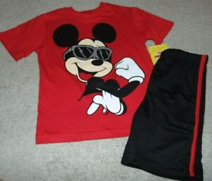 ~NWT Boys DISNEY'S MICKEY MOUSE Outfit! Size 6 Super Cute:)!