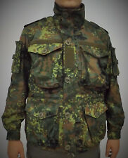 Bundeswehr german army Special forces combat jacket smock flecktarn camo L-XL