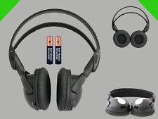 1 Wireless DVD Headset for Panasonic Vehicles : New Headphones Premium Sound