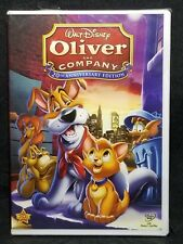 Disney Oliver and Company [DVD, 2009, 20th Anniversary Edition, DMR] NEW