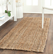 "Natural Fiber 2' 6"" x 6' Safavieh Barbados Jute Runner - NF447A-26"