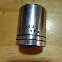 "Proto   1"" x  1/2"" Drive    Socket       12 Pt # 5432"