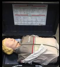 Laerdal Resusci Anne Adult Cpr Medical Training Manikin Torso Withcase